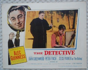 The Detective, Original Lobby Card, Alec Guinness, '54